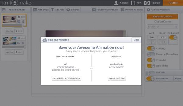 html5maker-save-html5-css-javascript-flash