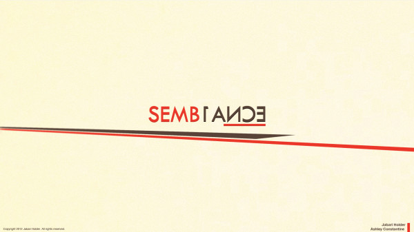 Semb1ance (with Ashley Constantine)