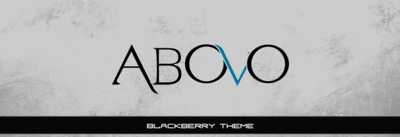 Abovo Blackberry Theme