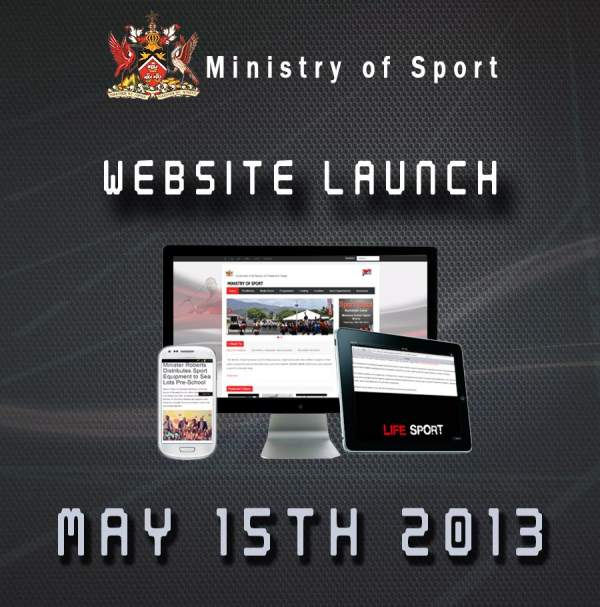 Ministry of Sport TnT Website Redesign