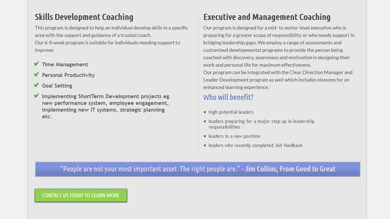 AIM Business Solutions Coaching