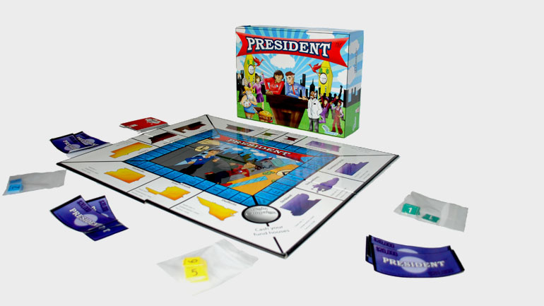 President Board Game Presentation 2010