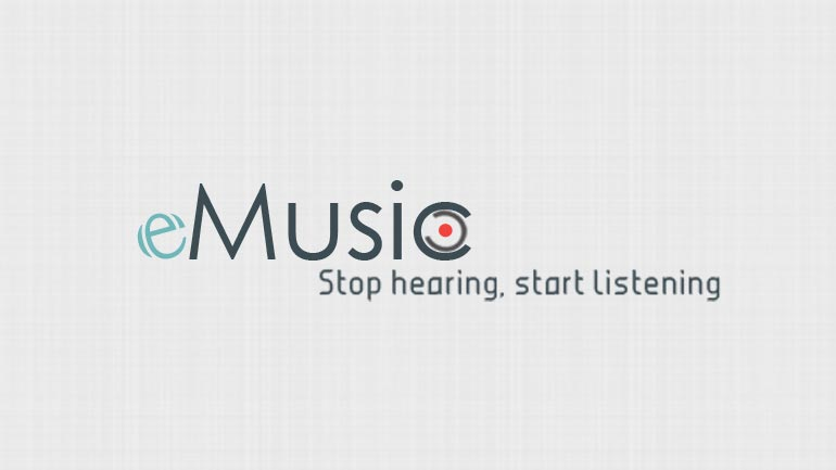 eMusic Logo Design