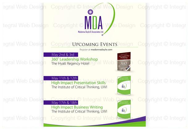 Flyer Design - Madonna Doyle and Associates