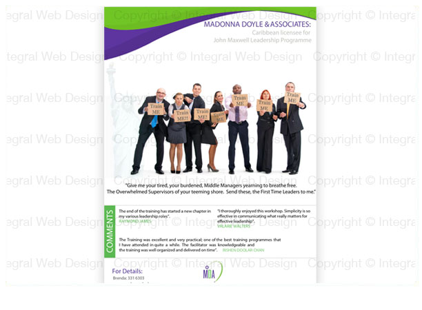 Flyer Design 2 - Madonna Doyle and Associates