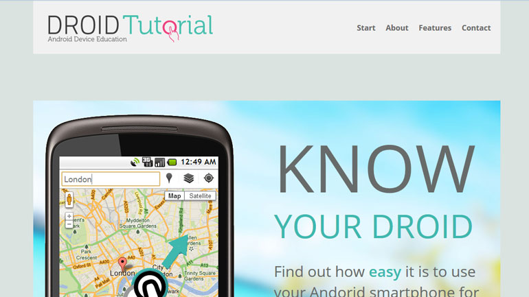 Android Tutorial Home Page