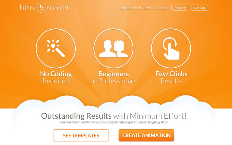 HTML5Maker For Easy HTML5 Animations