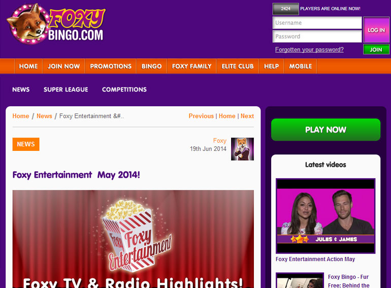Blog article & videos widget