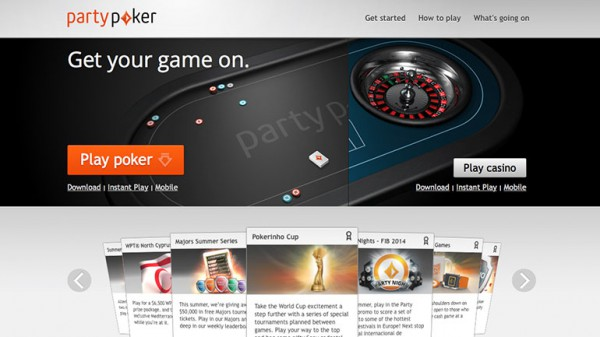 Party Poker Home
