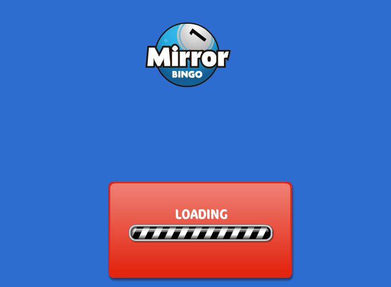 Mirror bingo loading jabari holder for Mirror bingo
