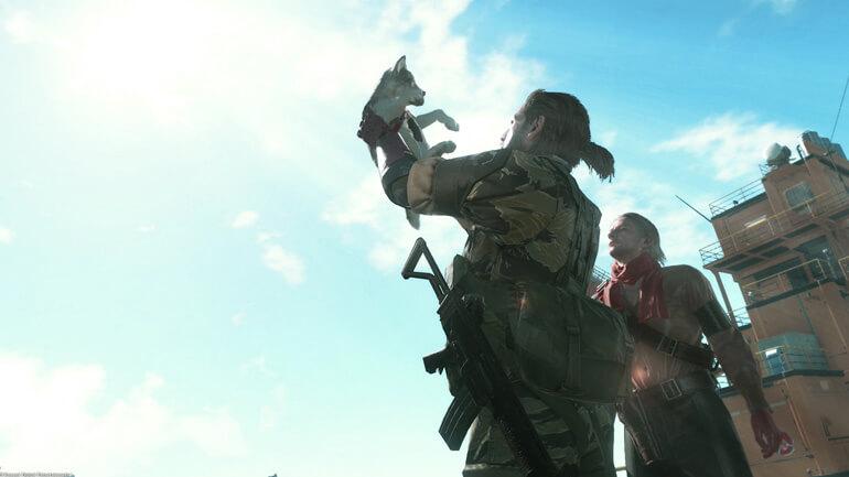 Metal Gear Solid V: Phantom Pain Simba Lion King
