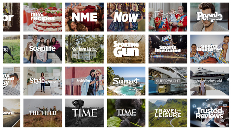 Time Inc Brands (only a few)