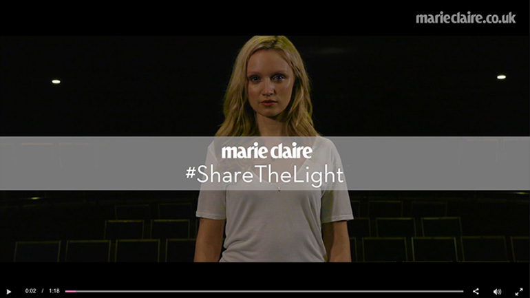 Marie Claire full video player