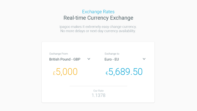 ipagoo currency exchange designs